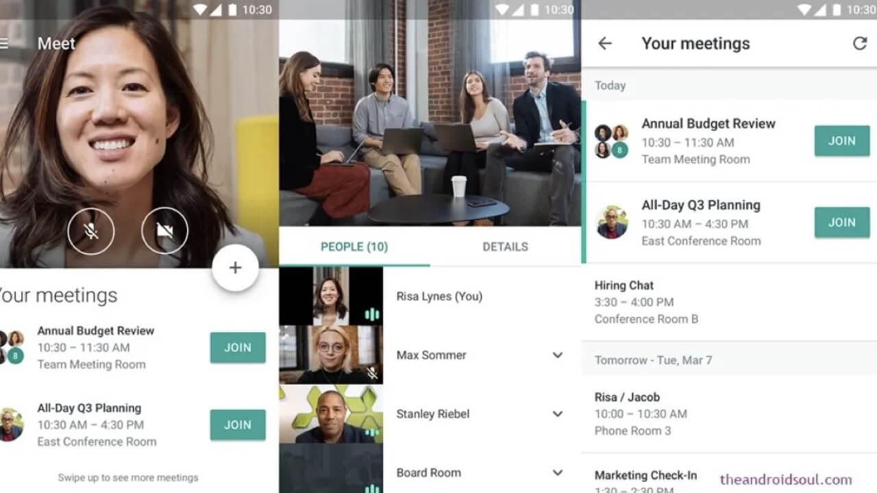 Visual Effect for Google Meet non funziona