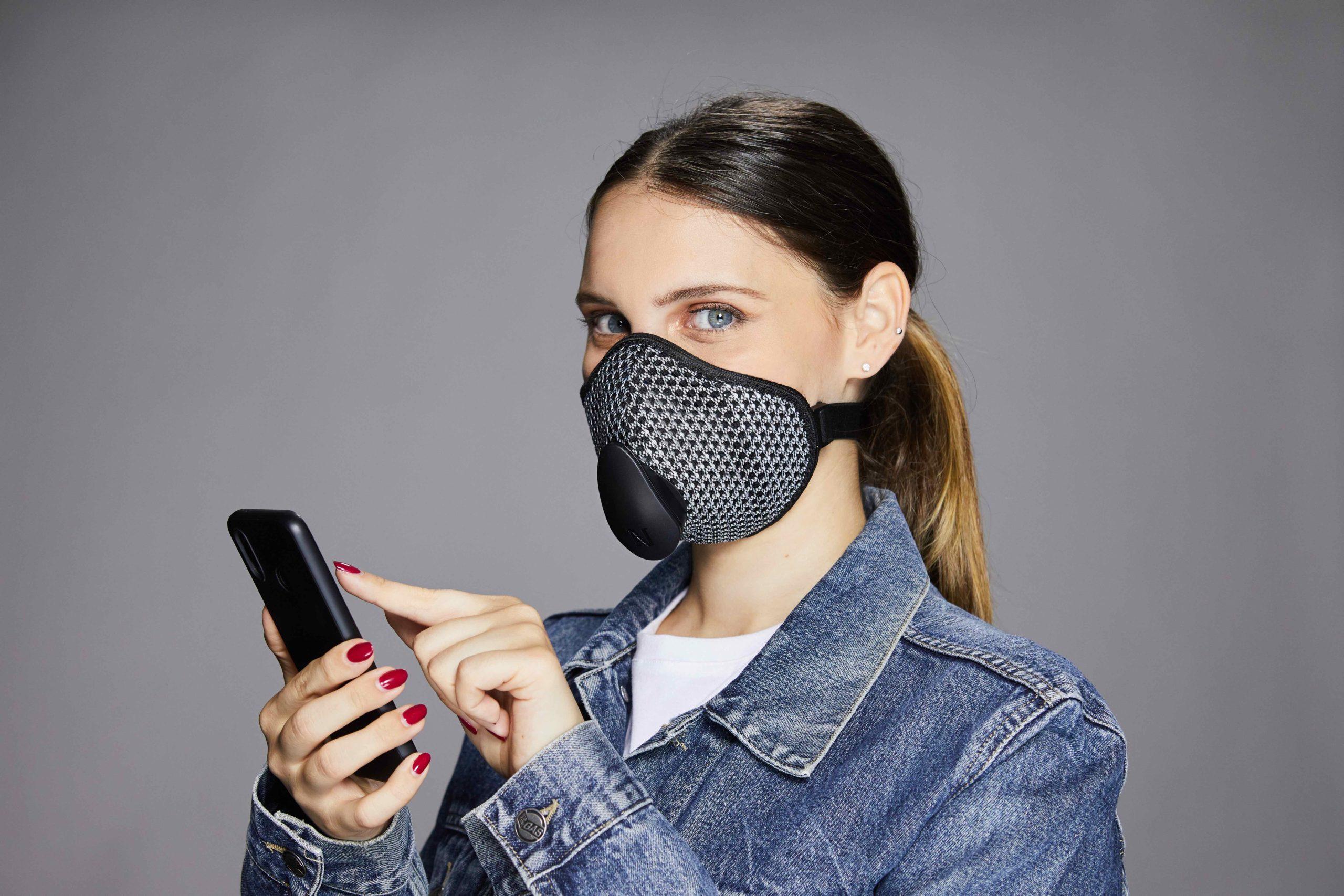 Narvalo Urban Mask, la mascherina che si connette al tuo smartphone