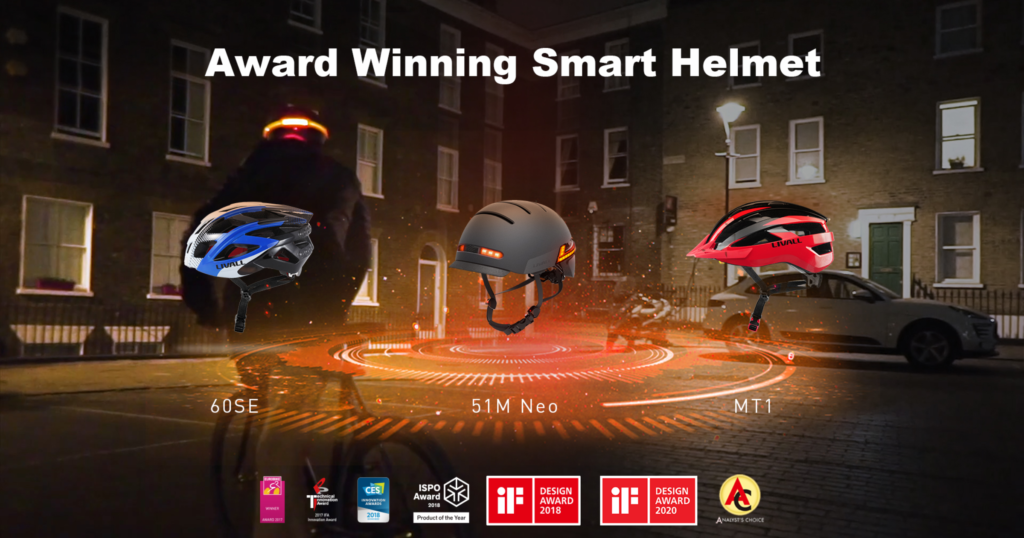CES 2021: LIVALL lancia i nuovi caschi Smart Cycle